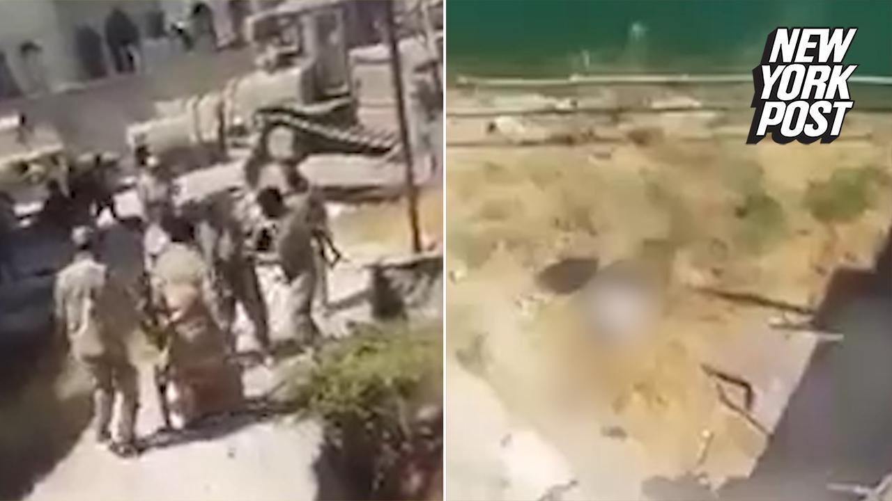 Disturbing video shows executions of ISIS fighters at hands