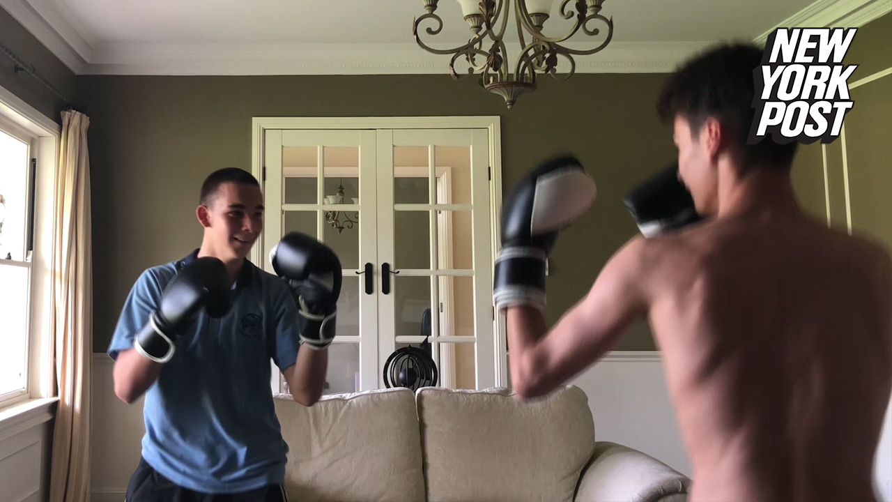 Home boxing match ends just as badly as you'd expect
