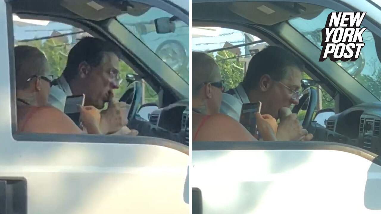 Passionate heavy foot sucking caught on camera at NJ red light (Video) |  New York Post