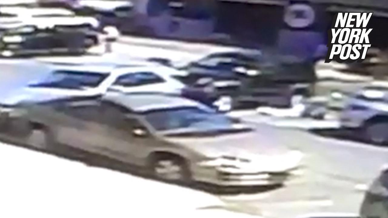 Car crushes elderly couple in fatal accident caught on video