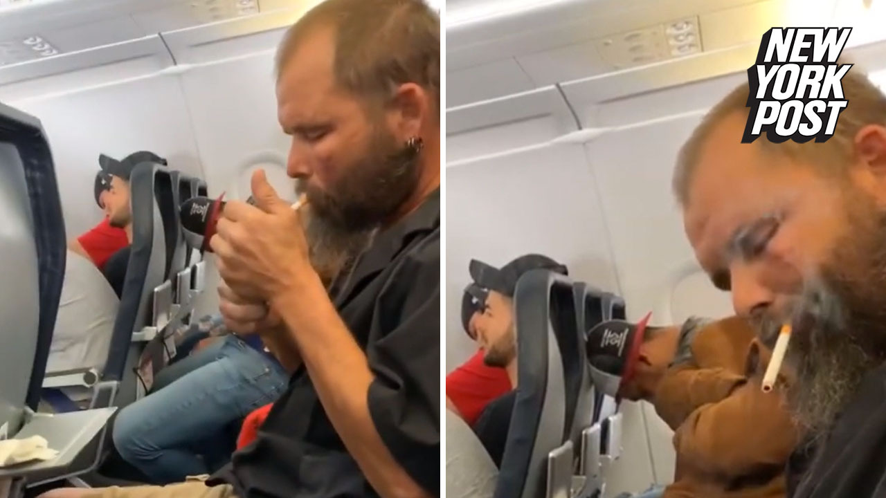 Spirit passenger gets 'lit' on an airplane