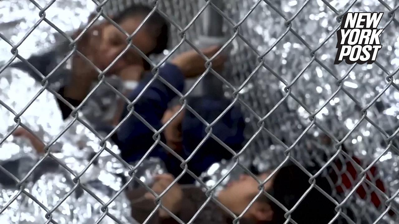 How children live inside cramped immigration detention centers