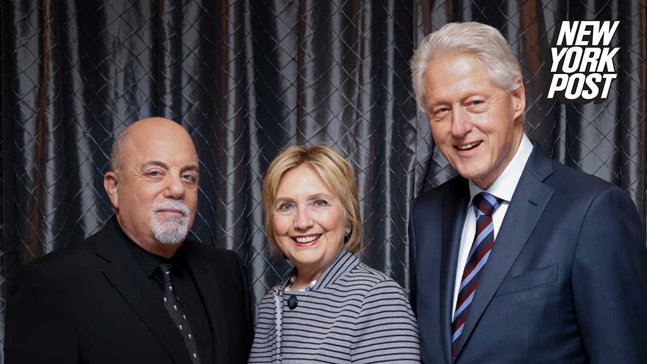 Crowd boos Bill and Hillary Clinton at Billy Joel MSG show