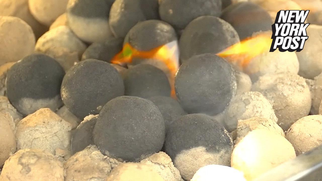 Poop charcoals are surprisingly great for grilling | (video) New