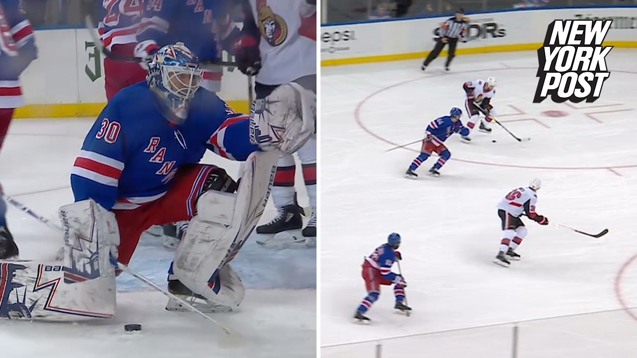 One Problem The Rangers Don T Have Is Their Goalies