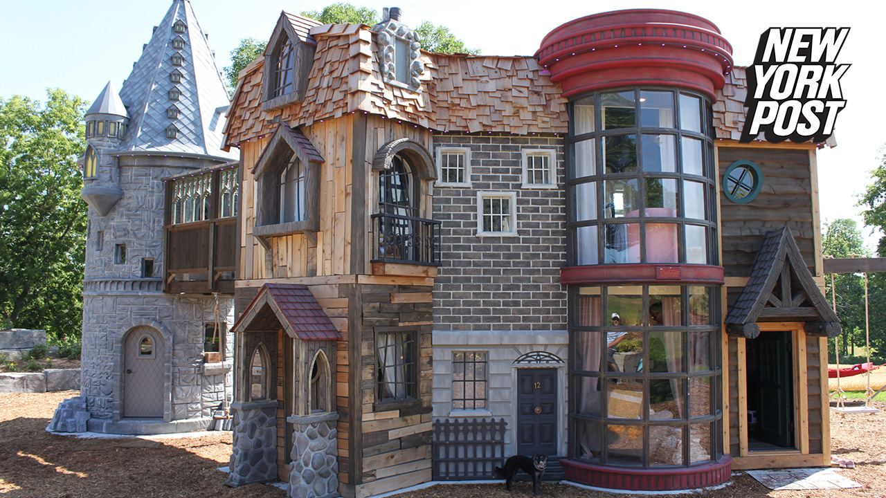 This Harry Potter playhouse is truly magical