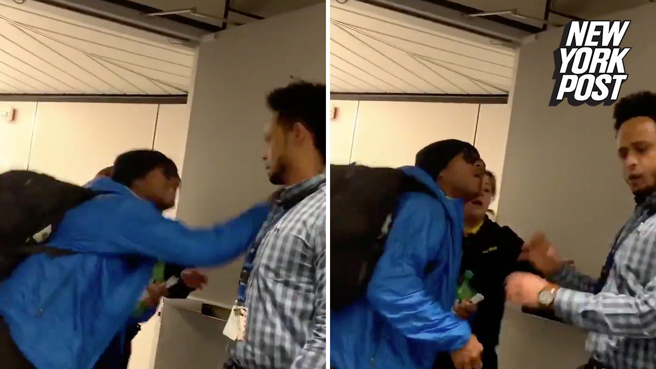Airline worker assaulted by angry passenger
