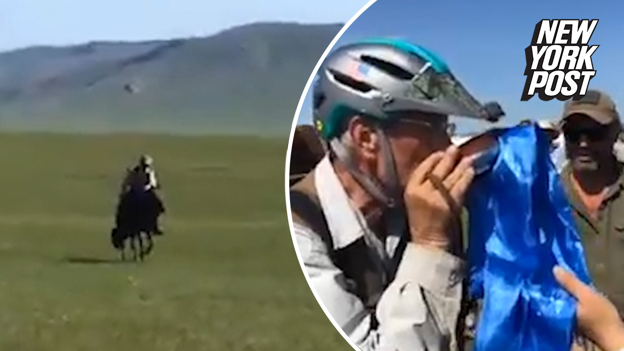 'It's nothing, you just ride 650 miles': 70-year-old wins Mongol Derby