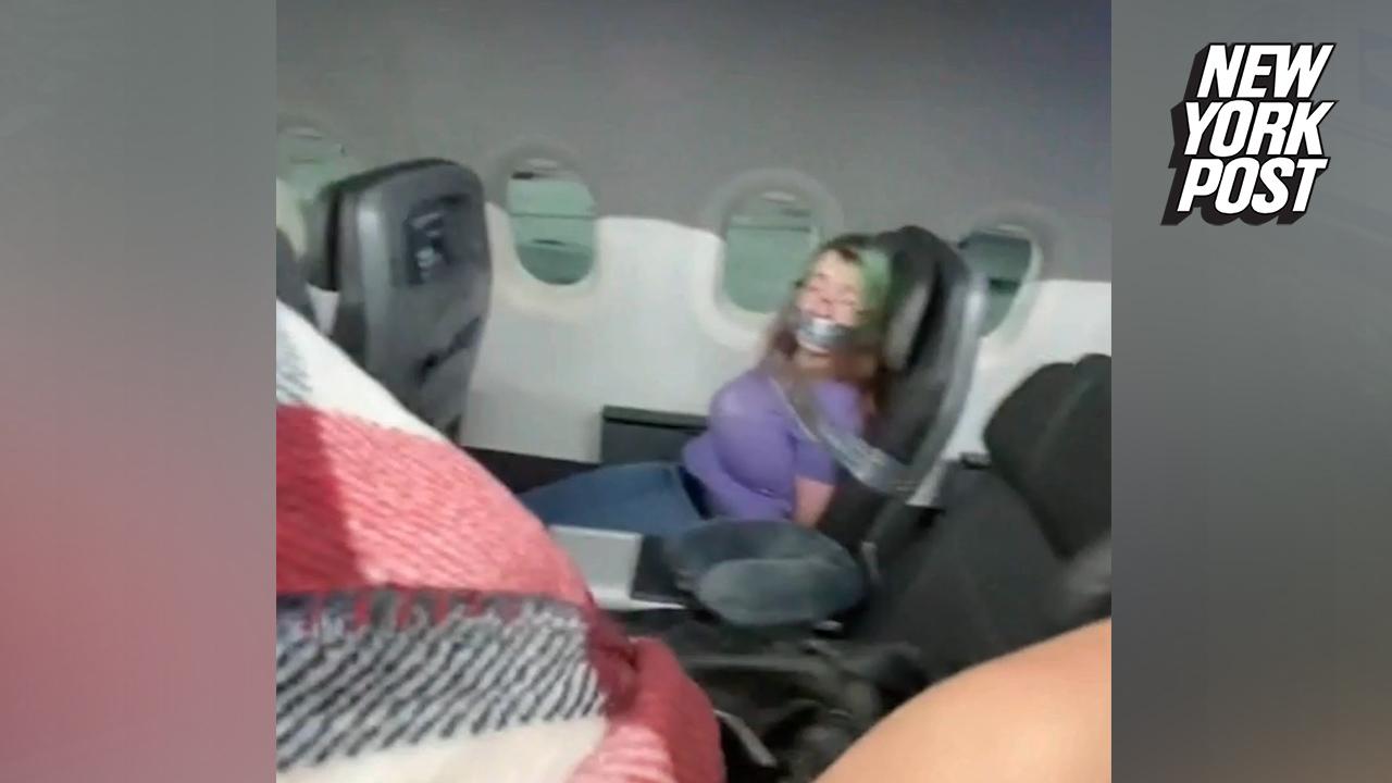 Βίντεο: Την έδεσαν και τη φίμωσαν γιατί ήθελε να ανοίξει εν πτήσει τις  πόρτες του αεροπλάνου