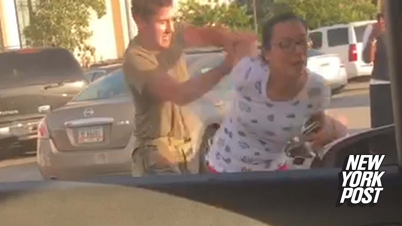 Soldier detained after violent parking lot meltdown