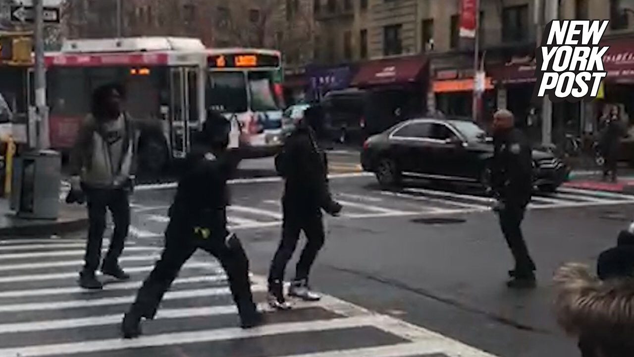 NYPD cops under investigation for wild arrest allegedly caught on video
