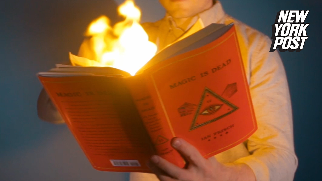 Author reveals secret society's magical mysteries