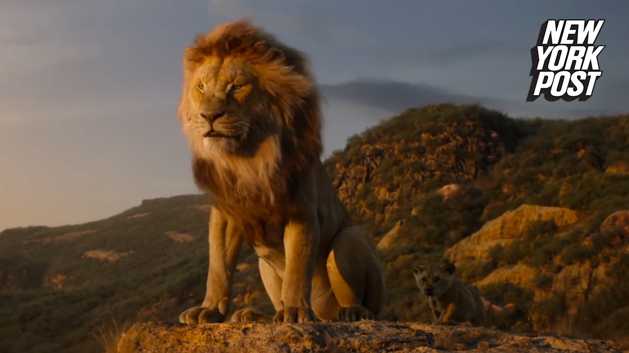 Official New Lion King Trailer Reveals First Look At Timon And Pumbaa