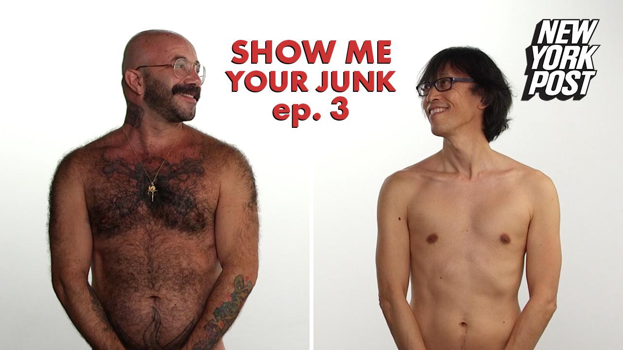 Show me naked men