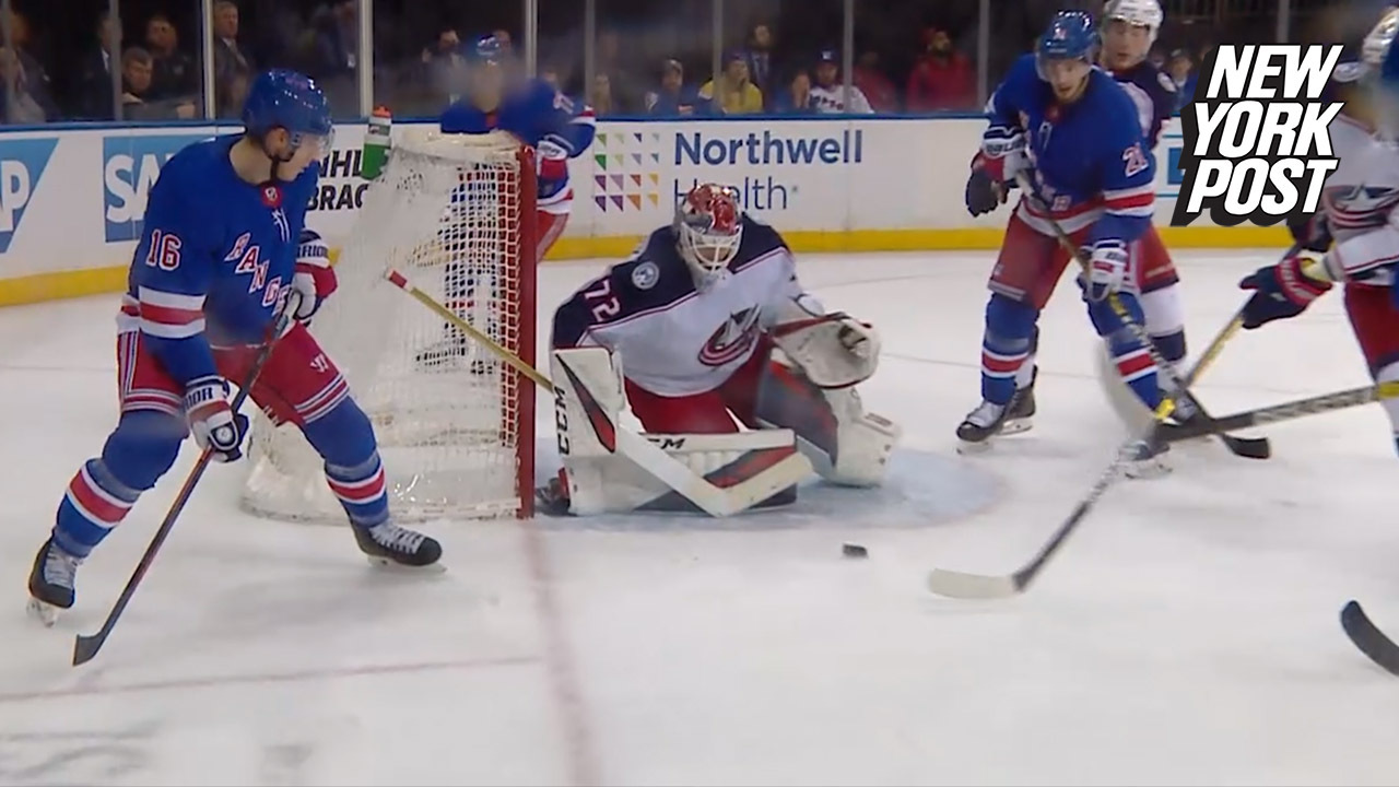 RANGERS VS  BLUE JACKETS HIGHLIGHTS FROM APRIL 5, 2019