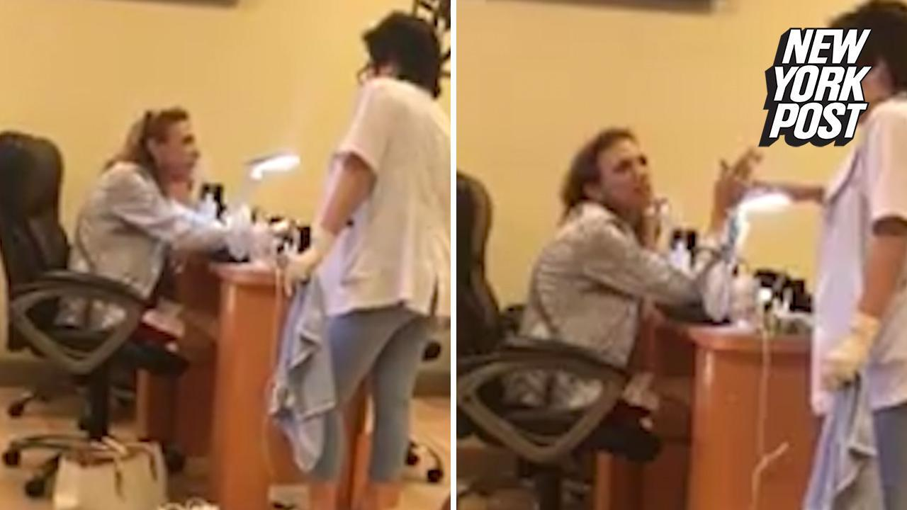 Woman unleashes racist tirade against Asian nail salon owner