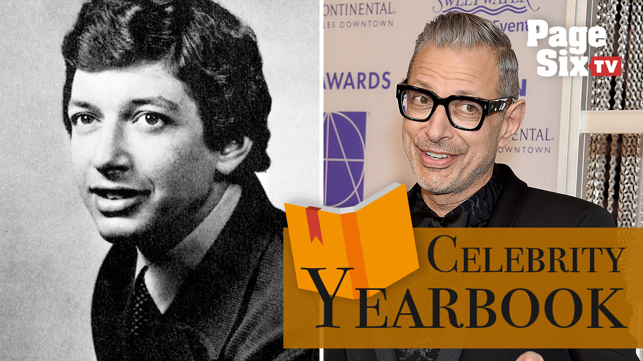 Jeff Goldblum performed a mime routine in high school