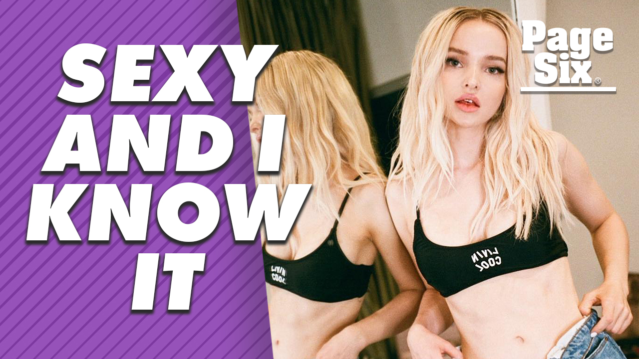 Dove Cameron is spicing up her Disney reputation with some sexy snaps