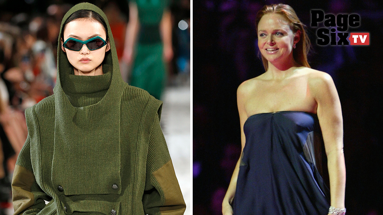 Stella McCartney sunglasses are made from recycled plastic bottles