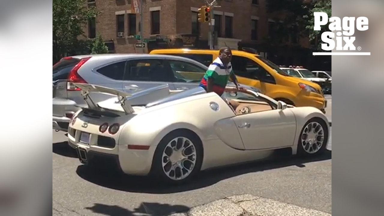 Tracy Morgan goes off on person who hit his new $2 million sports car: video