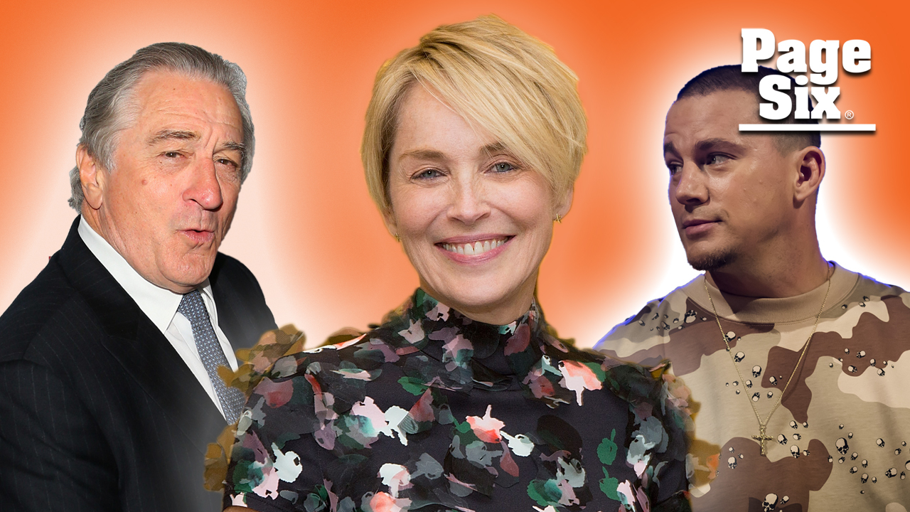 Sharon Stone won't need Bumble with these famous men