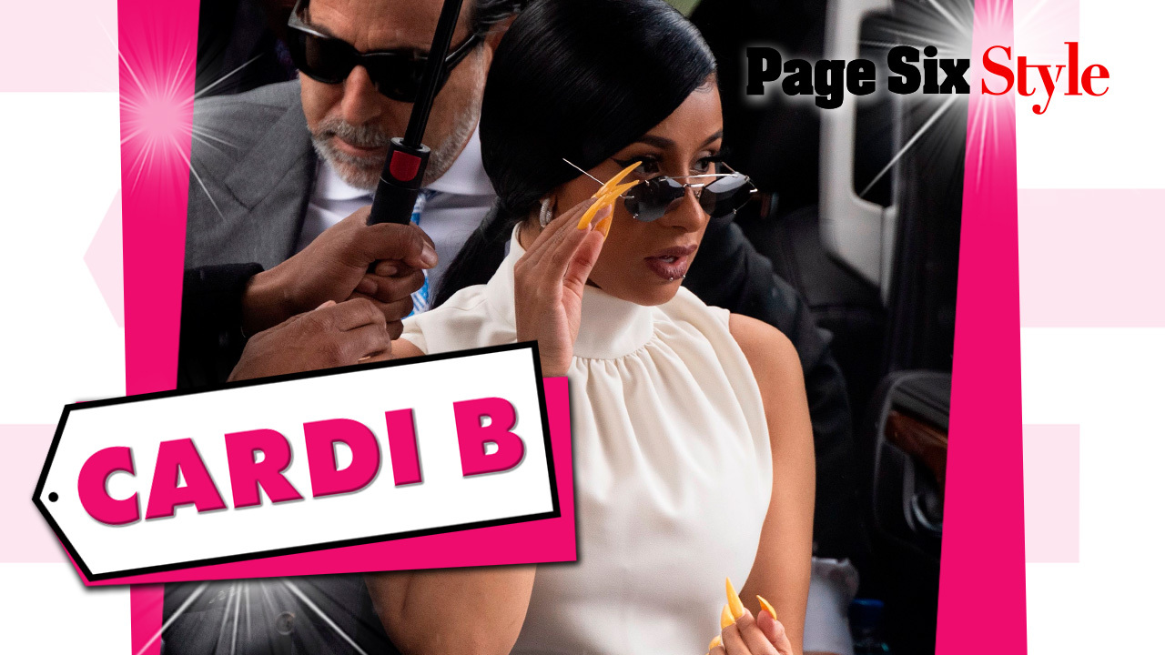 Cardi B's white-hot court outfit cost over $19,000