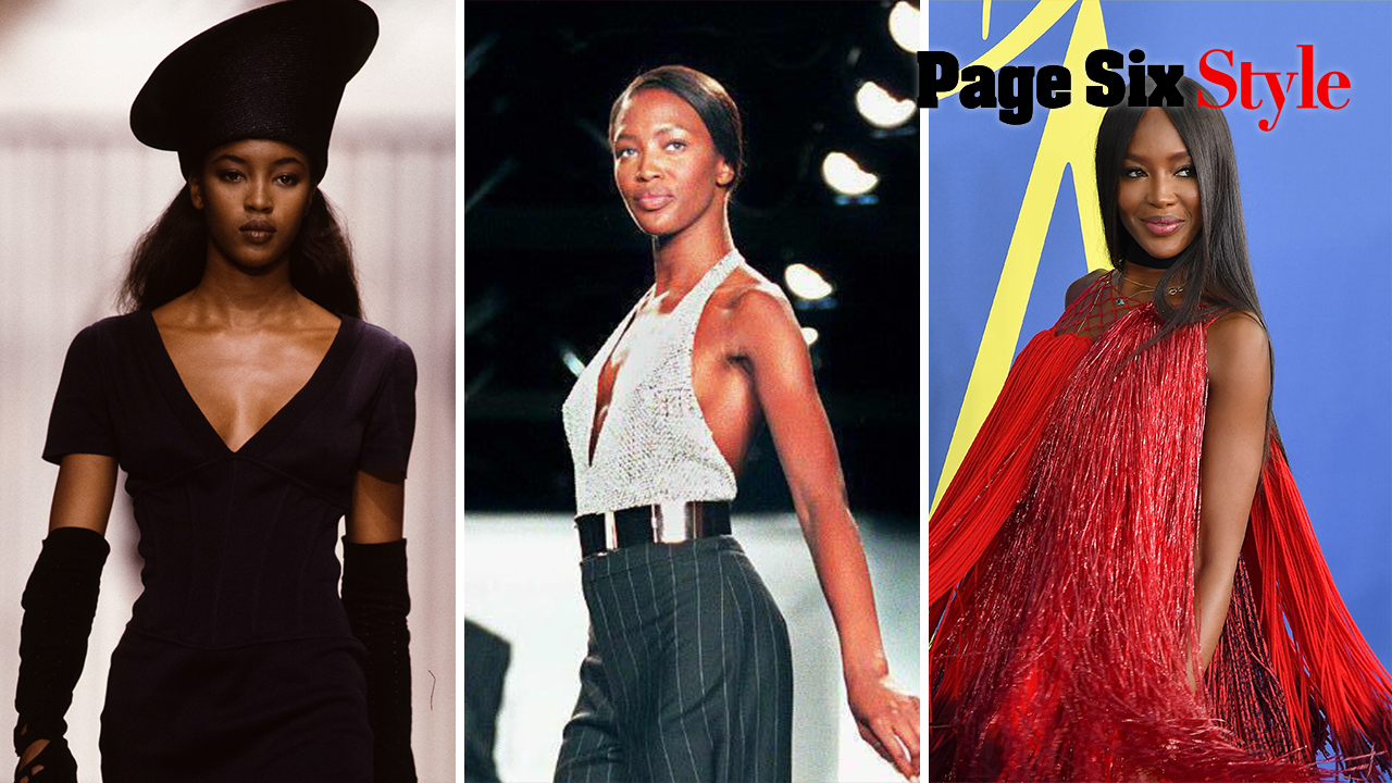 Naomi Campbell's style put the super in supermodel