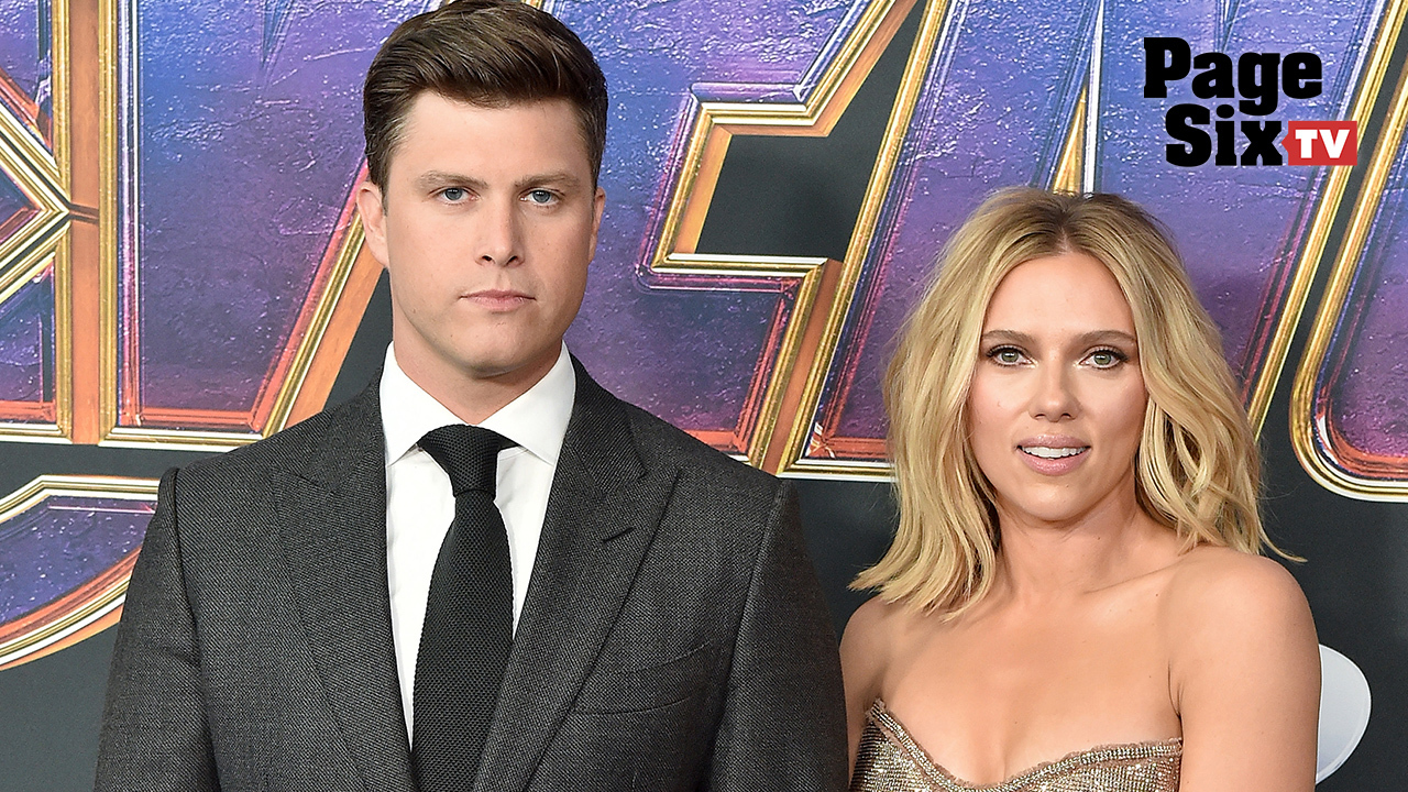 ScarJo is engaged to Colin Jost!