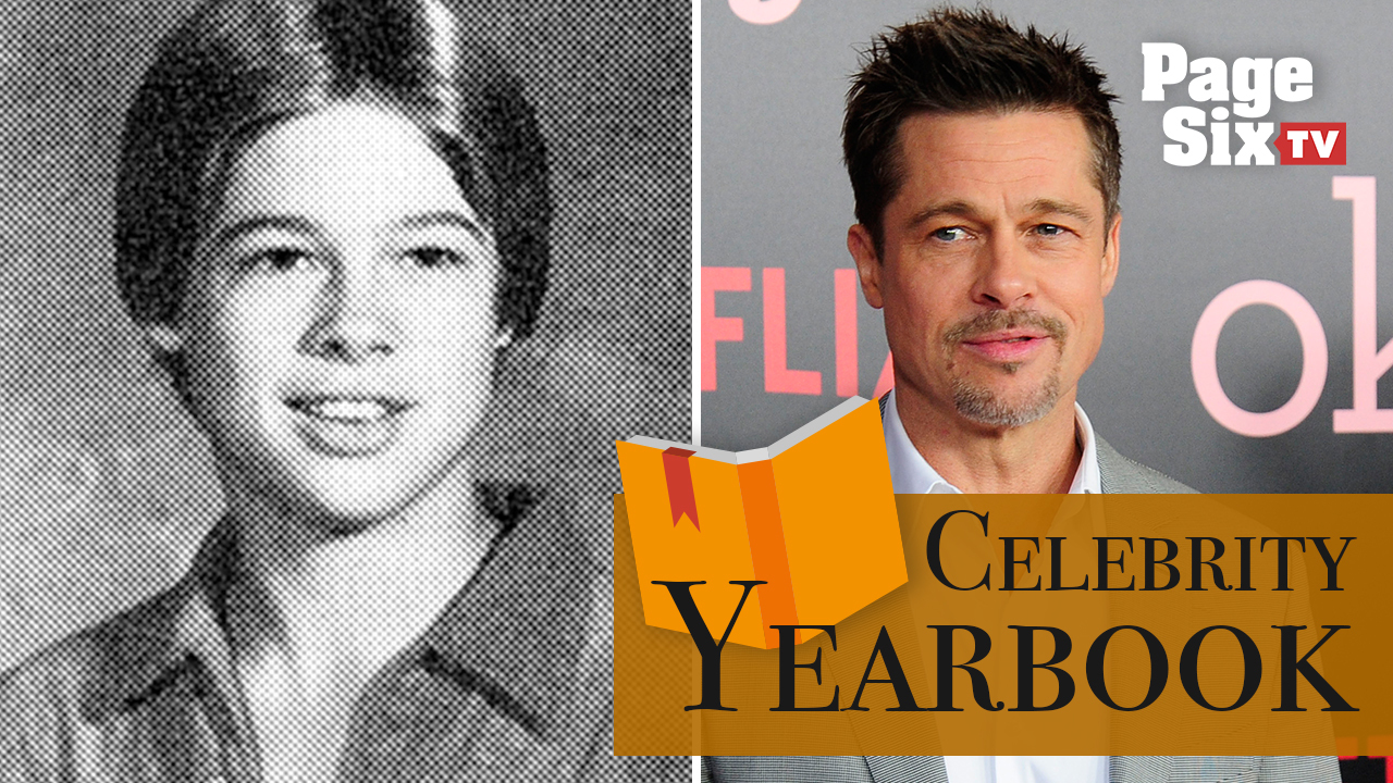Brad Pitt went from high school hot shot to Hollywood hunk