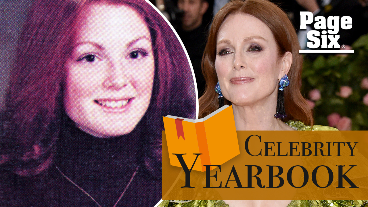 An English teacher inspired Julianne Moore to try acting