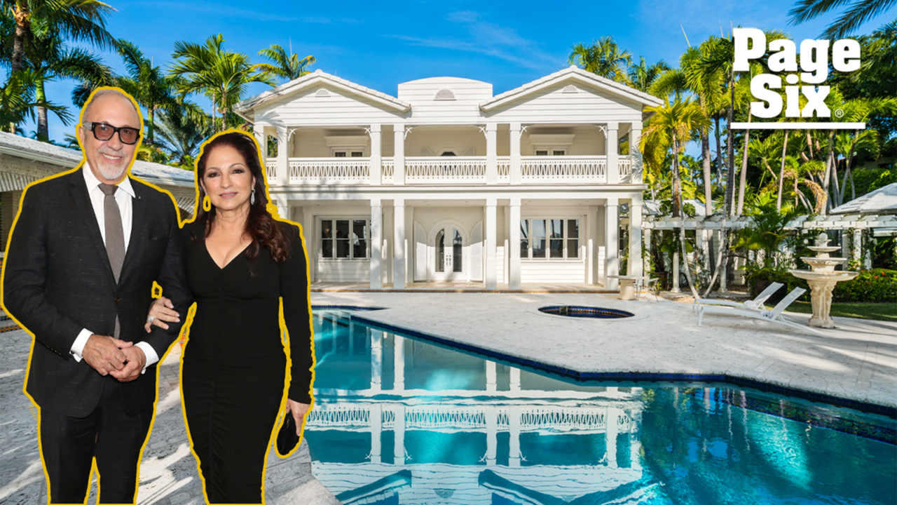 Gloria Estefan used this breathtaking $32M estate as her guest house