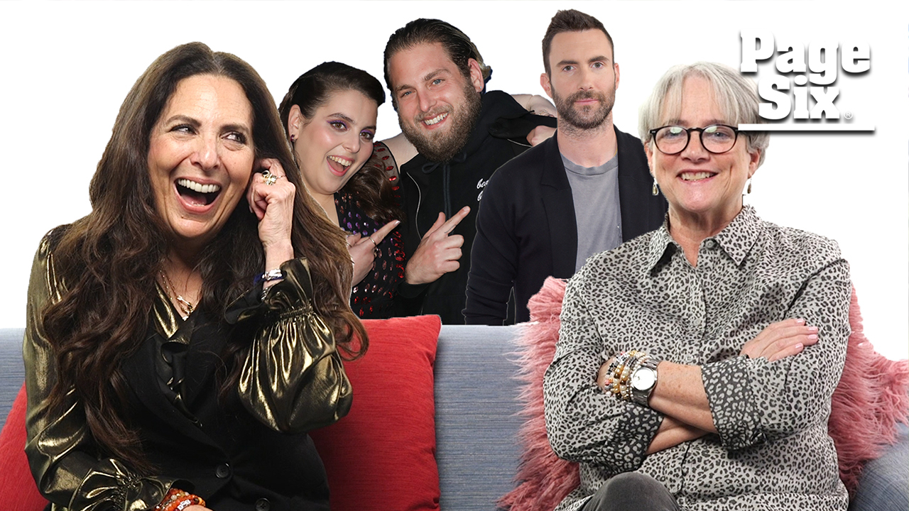 Adam Levine's mom and Jonah Hill's mom want you to know 'Your Mom Cares'