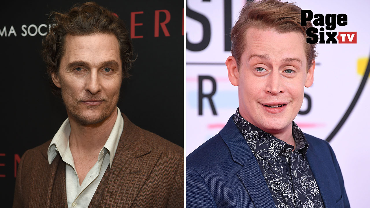 Matthew McConaughey and McCaulay Culkin's LA lifestyles are hilariously different