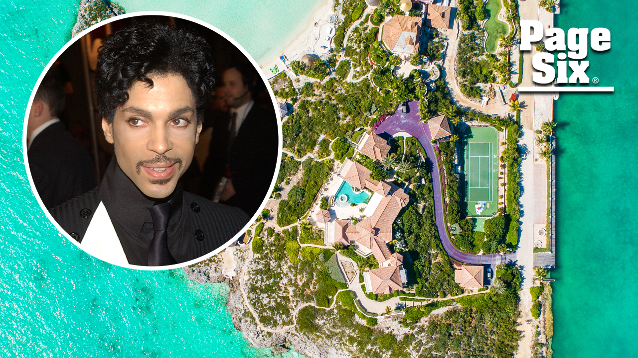 Prince's $11M Caribbean estate has a sprawling purple driveway