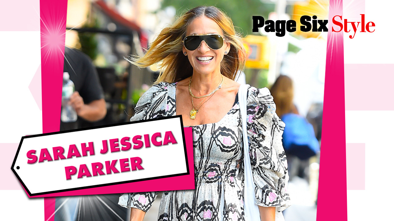 Sarah Jessica Parker wore a $2,300 outfit to lunch with Michelle Obama