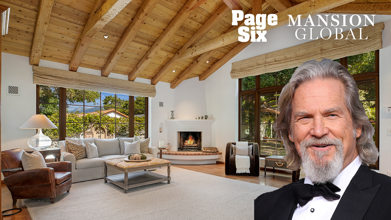 Live like The Dude in Jeff Bridges' $8M bungalow
