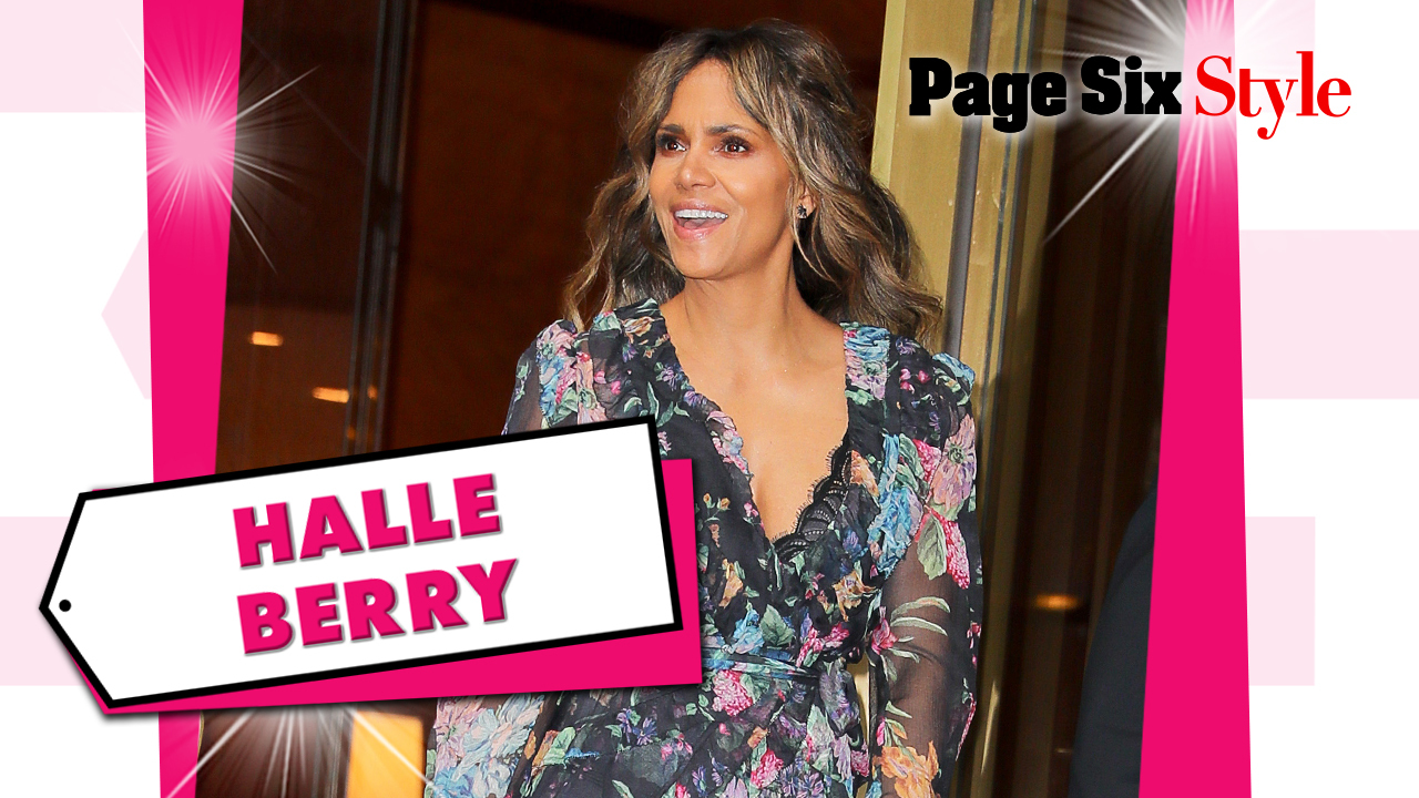 Halle Berry wears $14K floral dress on 'The Tonight Show'