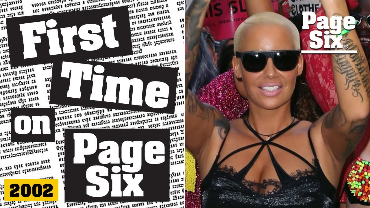 Amber Rose's first time in Page Six was a wild night at this Hollywood actor's house