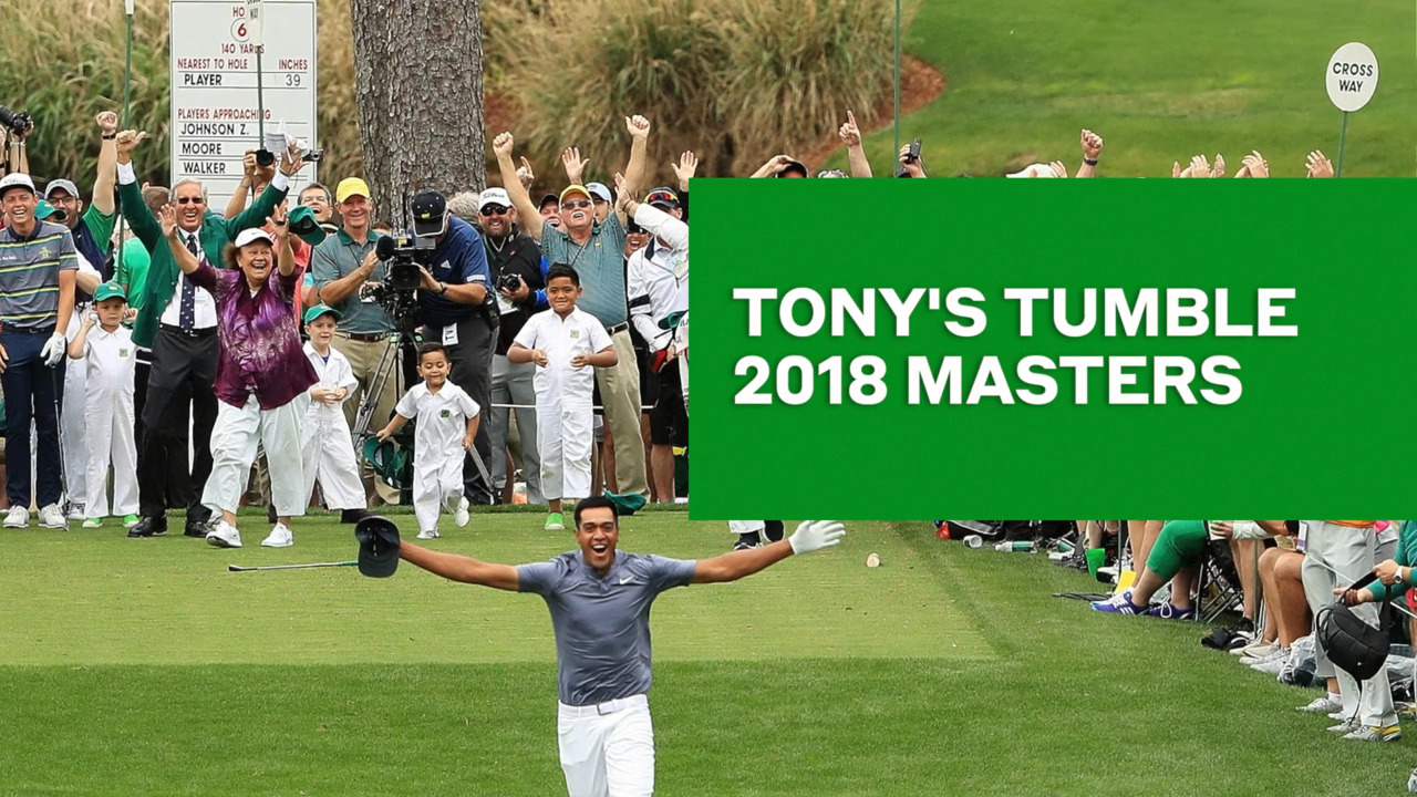 Masters 2019: Tony Finau threatens Masters records with hot front nine