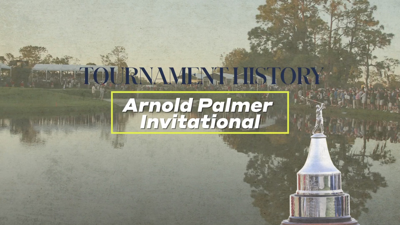 2019 Arnold Palmer Invitational: Second round tee times for Friday- Golf
