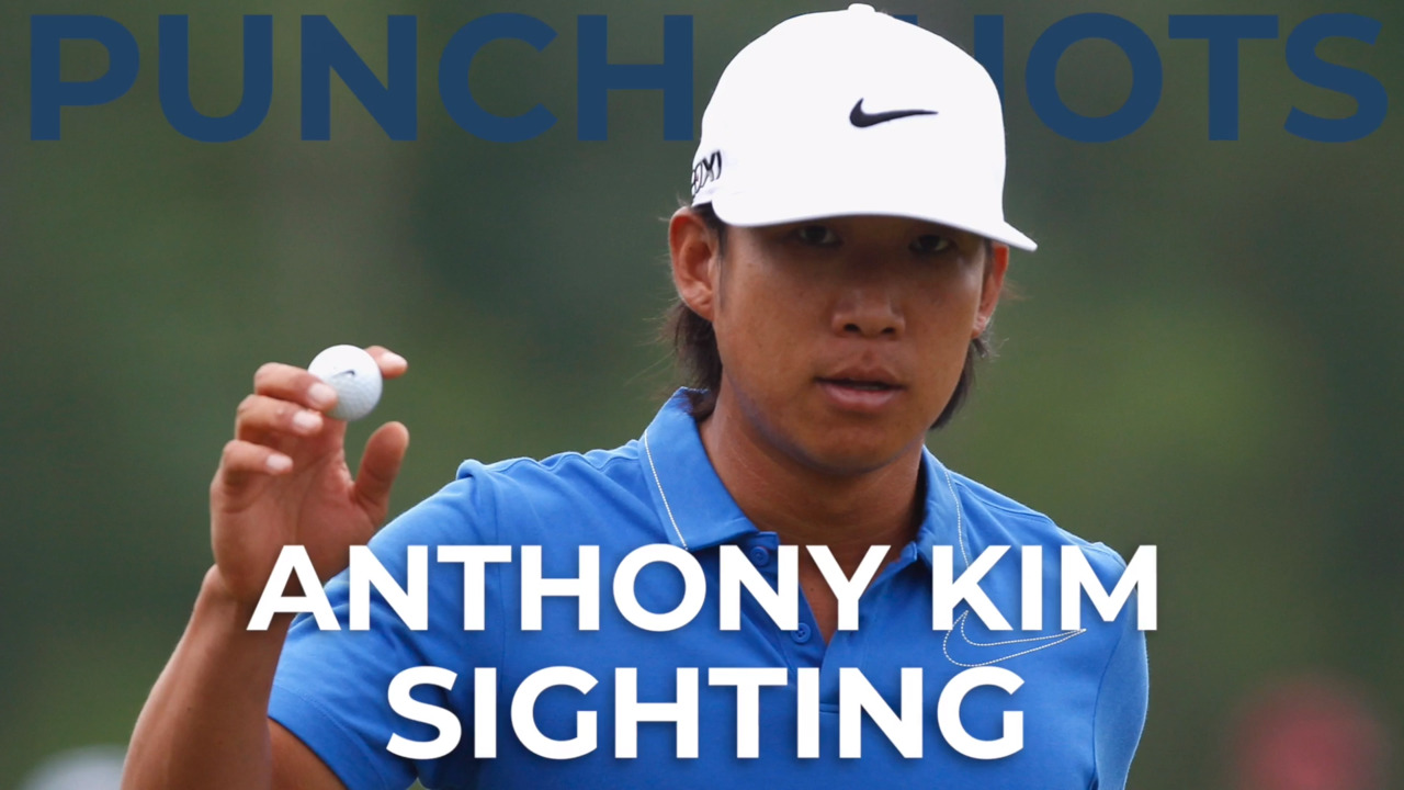 An Anthony Kim sighting is becoming increasingly rare