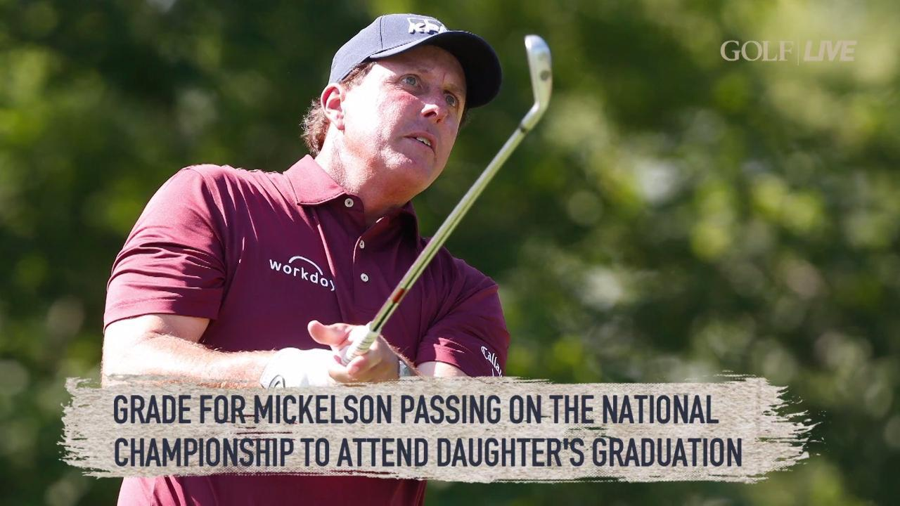 Phil Mickelson still has a tee time at Erin Hills