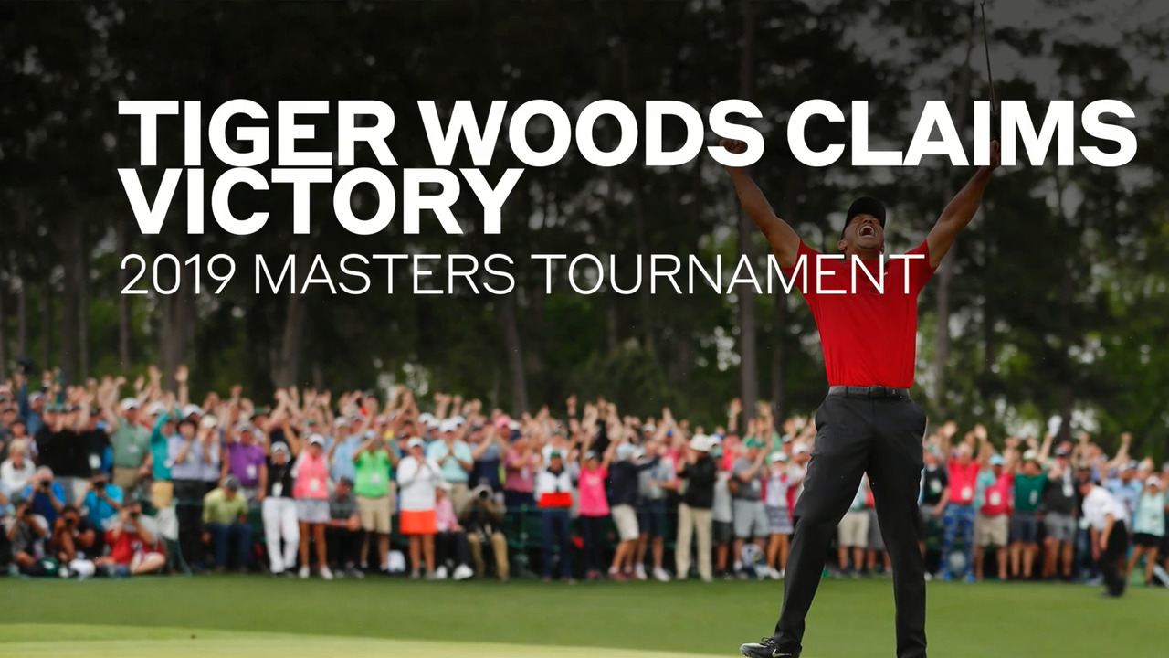 Masters 2019: Masters Sunday clocks monster TV ratings after Tiger's win