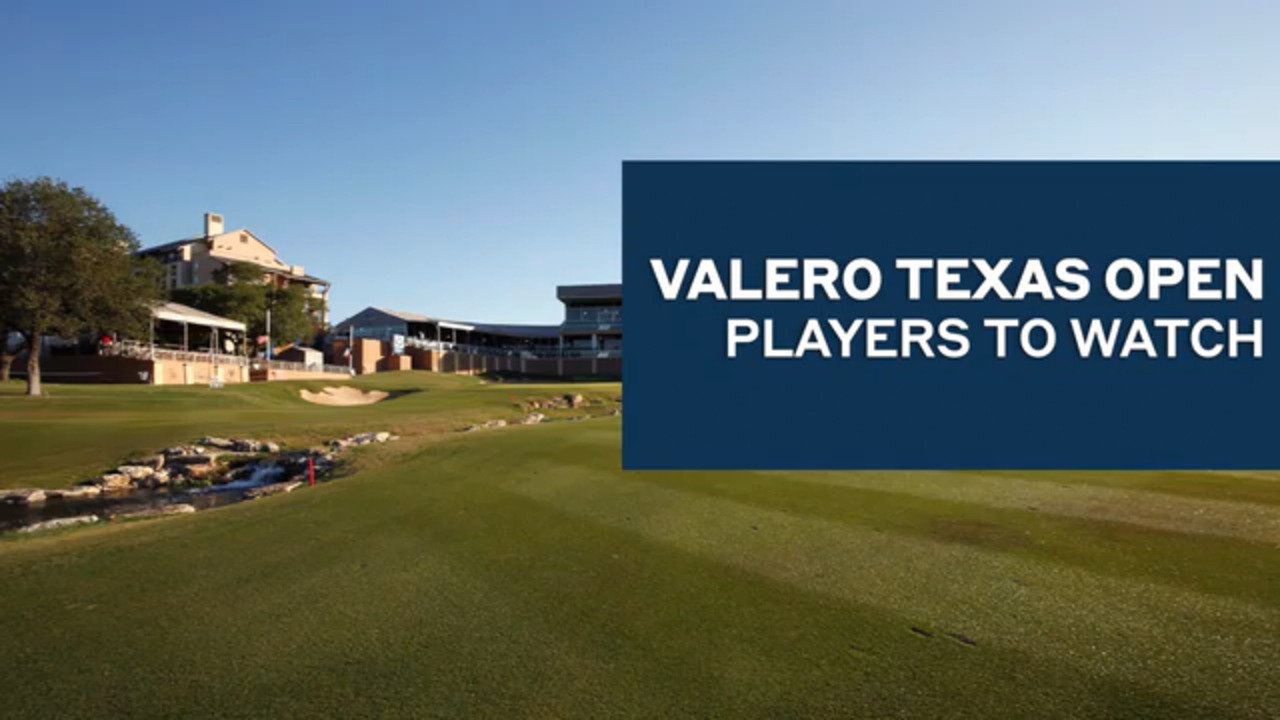 Fantasy Six Pack: Get these players in your lineup at the Valero Texas Open - Golf