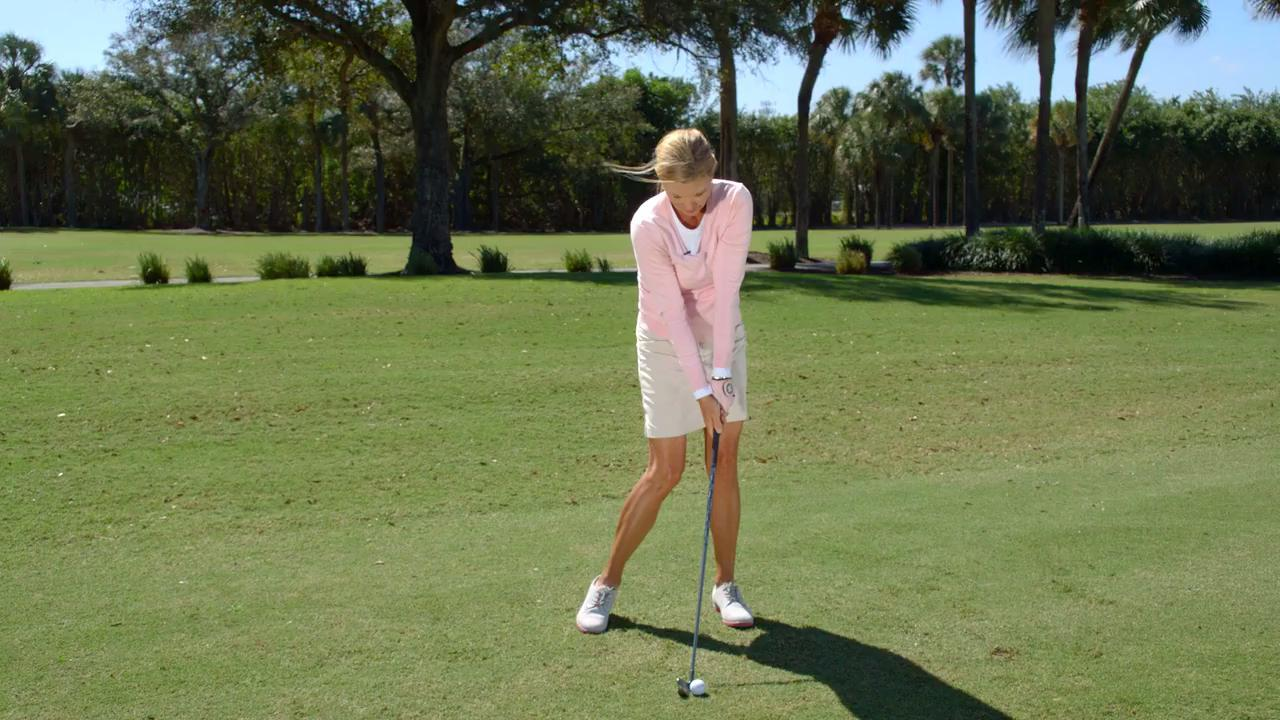 Hitting it fat? Here's a quick fix for your swing