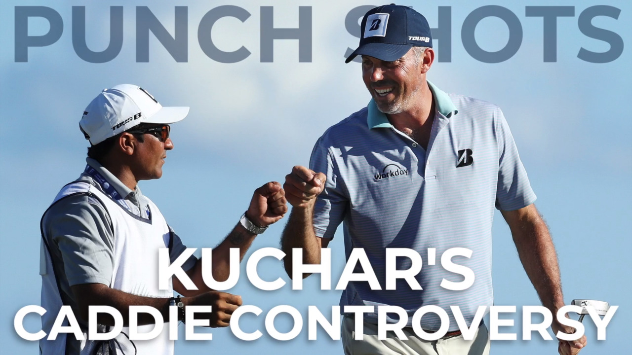 Little sympathy for Matt Kuchar in Riviera caddie yard