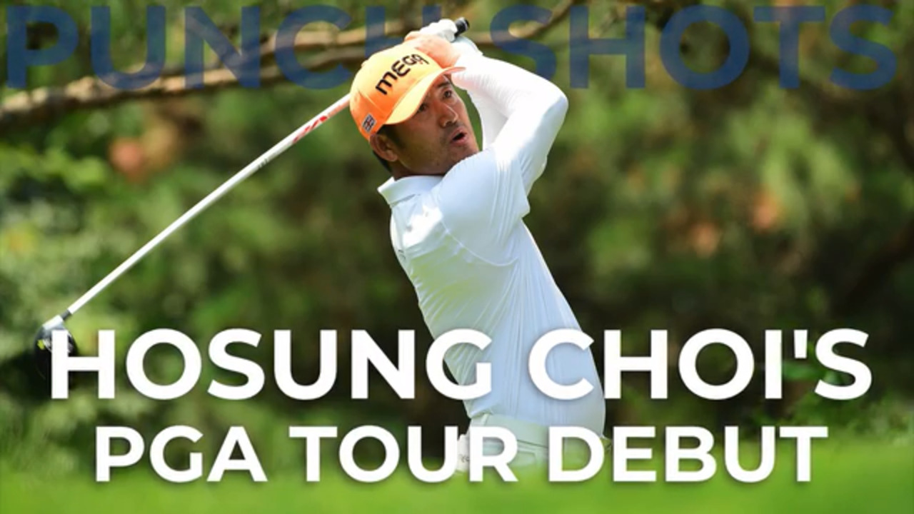 Hosung Choi on swing reaction: 'I am serious and I am doing it to survive'