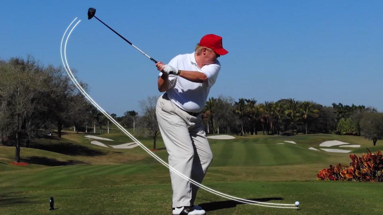 How Donald Trump cheats at golf even when playing against