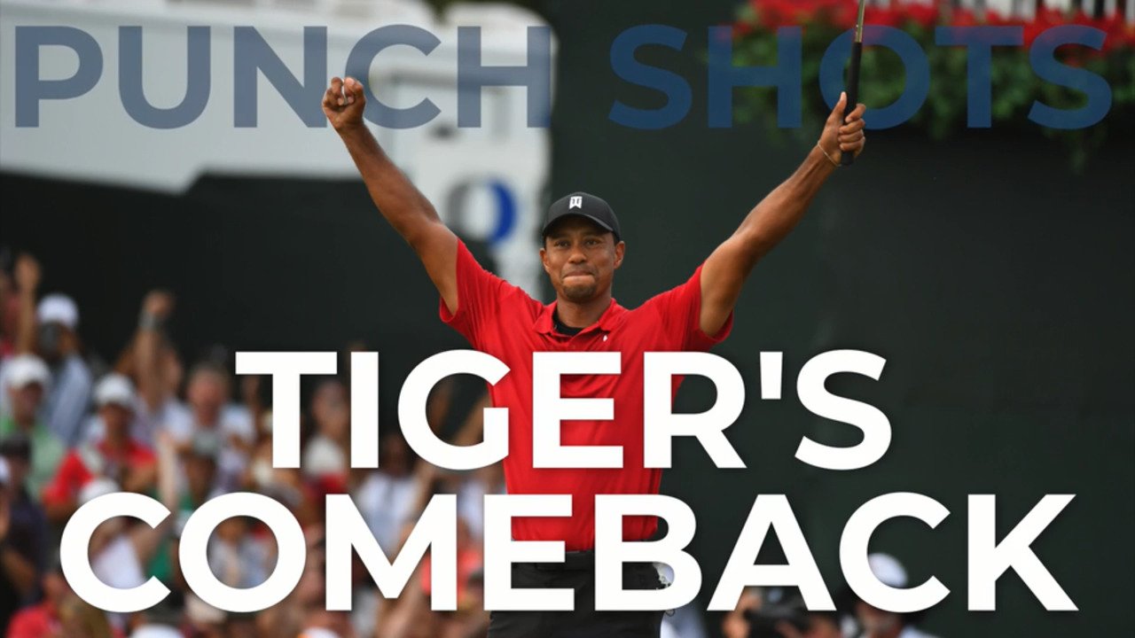 ea67d5810 The highs and lows (and tweets!) from Tiger Woods s incredible comeback  year in 2018 - Golf