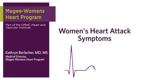 Heart Attack Symptoms in Women | Different from Men?